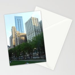 """""""A Nap In The Park"""" Stationery Cards"""