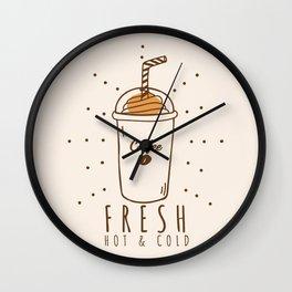 Fresh Coffee Wall Clock