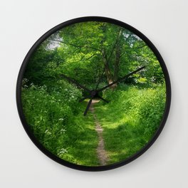 Trail Wall Clock