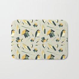 Flying Birdhouse (Pattern) Bath Mat