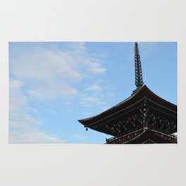 Pagoda in the Sky Rug