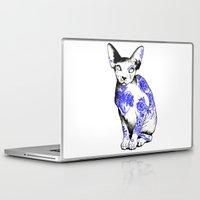 kitty Laptop & iPad Skins featuring Kitty by Judski