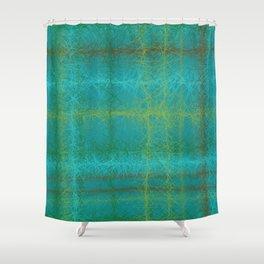 Woolen lines Shower Curtain