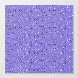 Lilac rubber flooring Canvas Print