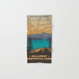 Killarney Park Poster Hand & Bath Towel