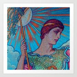 Minerva Goddess Of Wisdom Art Print