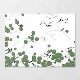 It's a pond life Canvas Print
