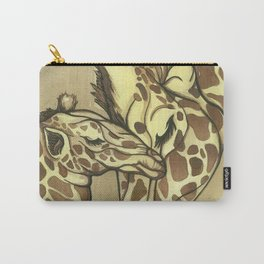 Giraffe Kisses Carry-All Pouch