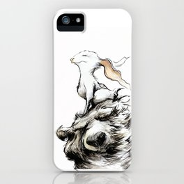 Feel the wind in your ears iPhone Case