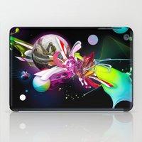runner iPad Cases featuring Splash Runner by Andre Villanueva