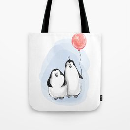 We are penguins Tote Bag