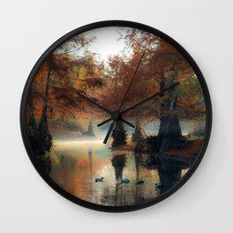 Autumn Sunrise Wall Clock