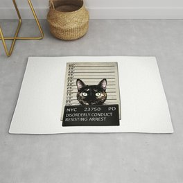 Kitty Mugshot Rug