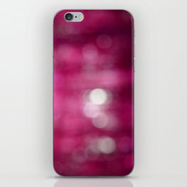 Pink Abstract iPhone Skin