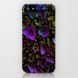 July Flowers iPhone Case