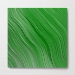 stripes wave pattern 1 depi Metal Print