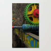 top gear Canvas Prints featuring gear by giol's
