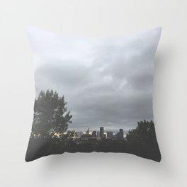 City Beauty Throw Pillow