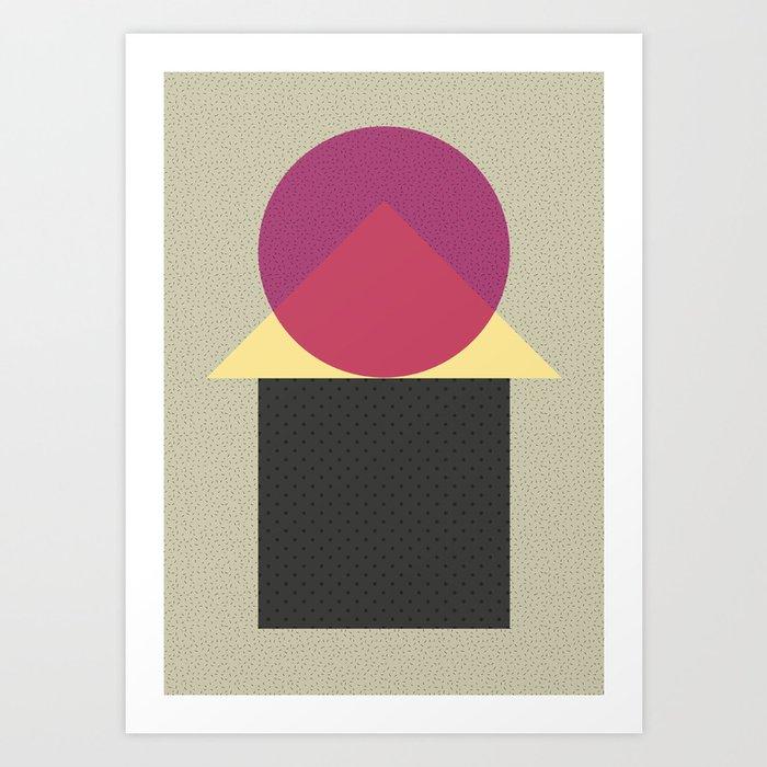 Cirkel is my friend V2 Art Print