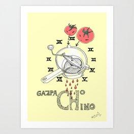 Gazpacho chino Art Print
