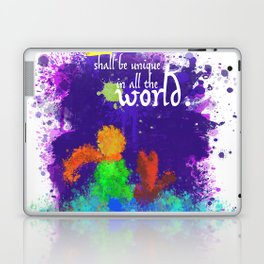 The Little Prince | Quotes | But if you tame me, then we shall need each other. Part 3 of 3 Laptop & iPad Skin