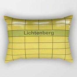 Berlin U-Bahn Memories - Lichtenberg Rectangular Pillow