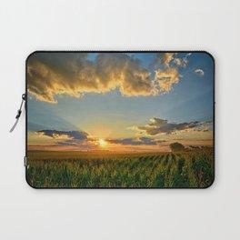Iowa Corn Fields Laptop Sleeve