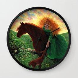 Aine Wall Clock