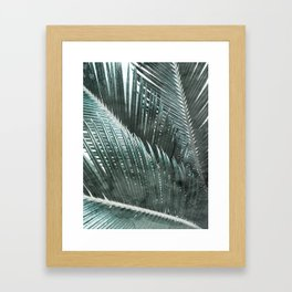 Simply Palms Framed Art Print