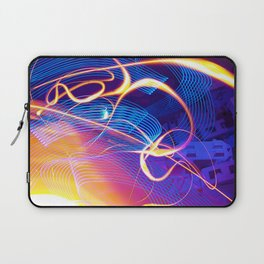 Chaos and Lines Laptop Sleeve