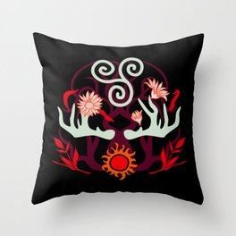 Druid Power Throw Pillow