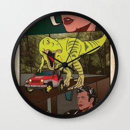 Sexy will find a way.  Wall Clock