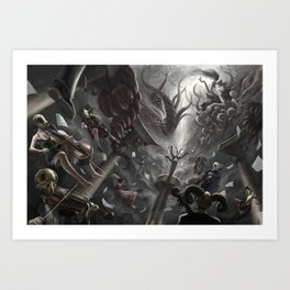 Symphony Insomnium Art Print