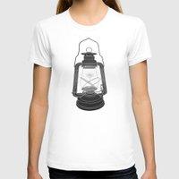 fireflies T-shirts featuring Cage of Fireflies by Erik Sandi Satresa