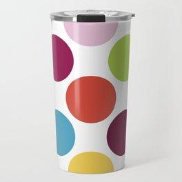Colorful Dots Travel Mug