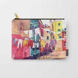 Laundry in Venice Carry-All Pouch