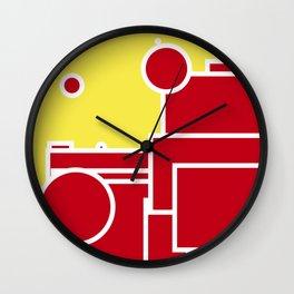 Geometric shape pattern nr 8082644 Wall Clock