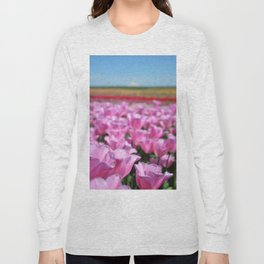 Tulips in the Northwest Long Sleeve T-shirt