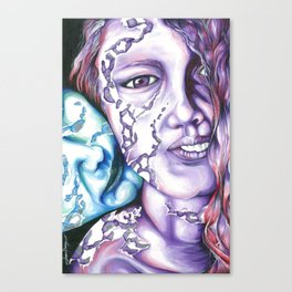 Loves Touch  Canvas Print