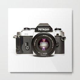 Nikon Camera Style Metal Print