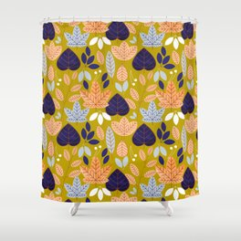 Jolene #illustration #pattern Shower Curtain