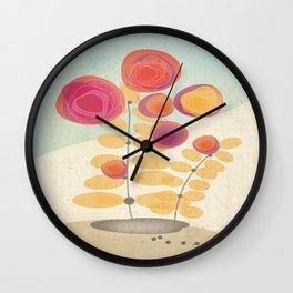 Fantarose Wall Clock