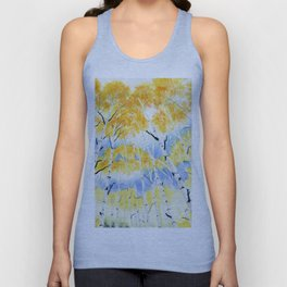 Under the Birch Forest Unisex Tank Top