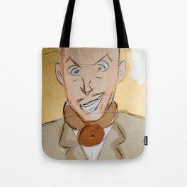Vincent Price as EggHead Tote Bag