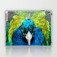 Sleepy Peacock Laptop & iPad Skin