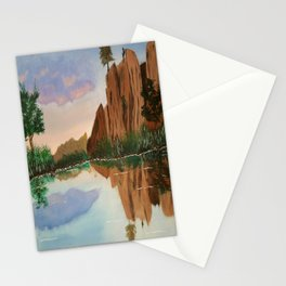 Cliffside Reflections Stationery Cards