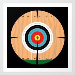 On Target Art Print