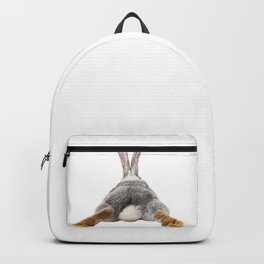 Cute Bunny Rabbit Tail Butt Image Easter Animal Backpack