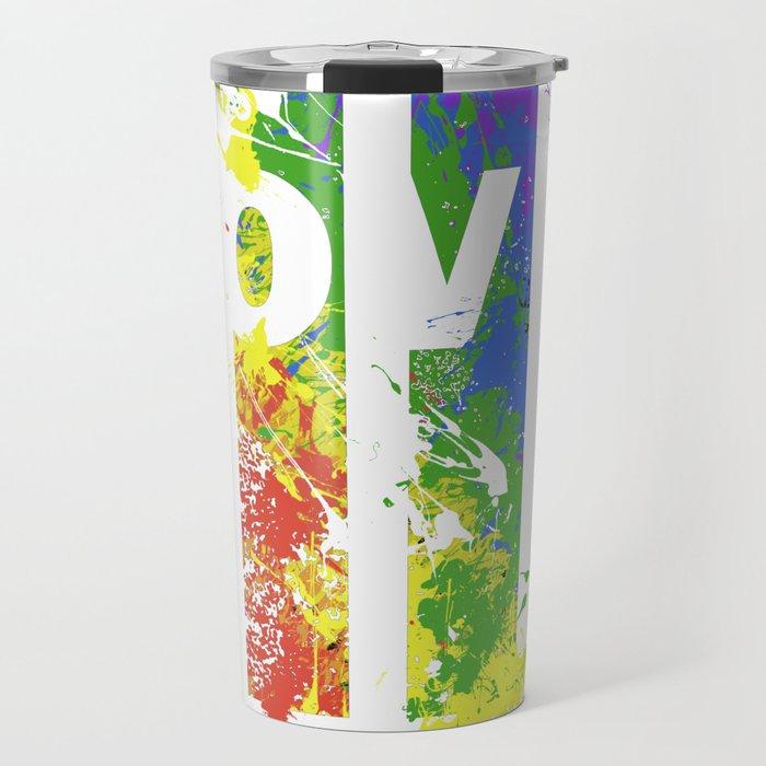 LOVE/COLOR Travel Mug