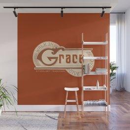 WALK IN GRACE - Handlettering Verse Wall Mural